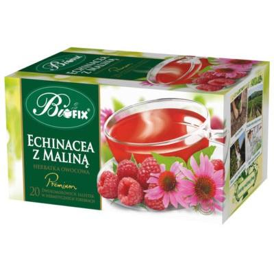 Ceai Premium Echinacee si Zmeura 20 plicuri