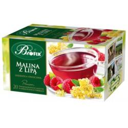 Ceai Premium Floare de Tei cu Zmeura 20 plicuri