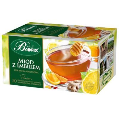 Ceai Premium Miere si Ghimbir 20 plicuri