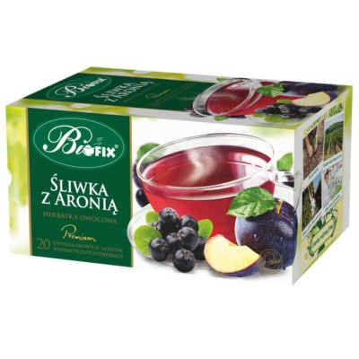 Ceai Premium Prune si Aronie 20 plicuri