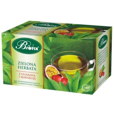 Ceai Verde cu Guarana si Maracuea 20 plicuri