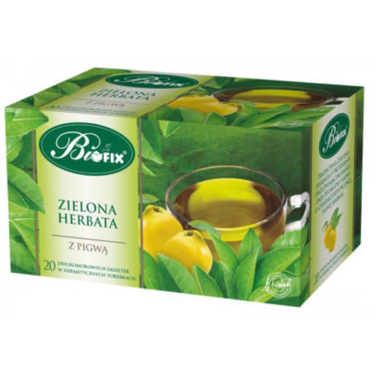Ceai Verde cu Gutuie 20 plicuri