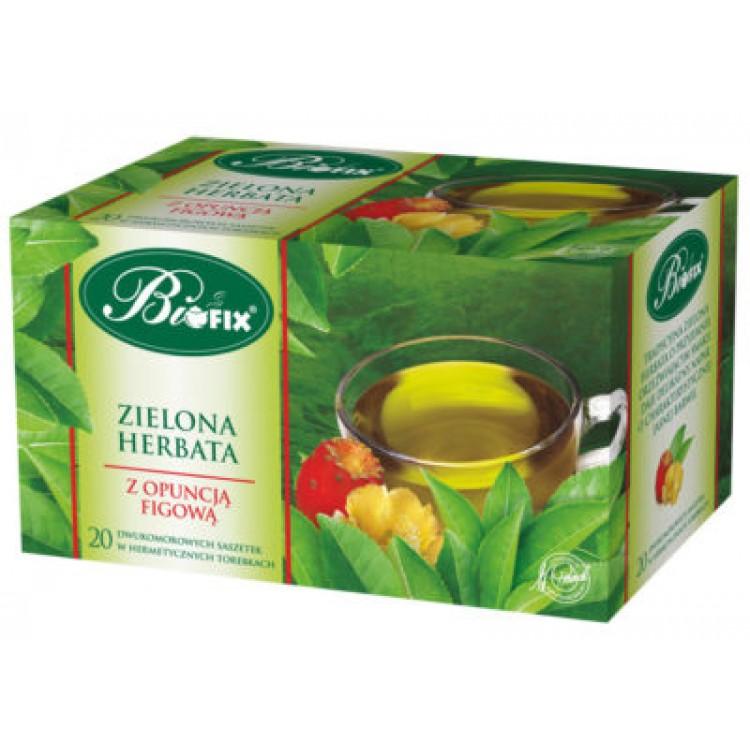 Ceai Verde cu Opuncia (fructul cactusului) 20 plicuri