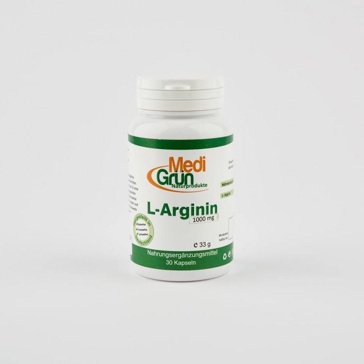 L-arginina 30 Capsule MediGrun