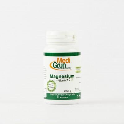 Magneziu + Vitamina C 90 Capsule MediGrun