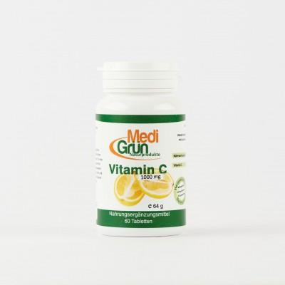Vitamina C 1000 mg 60 Pastile MediGrun